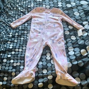 Carter's pink fleece pjs